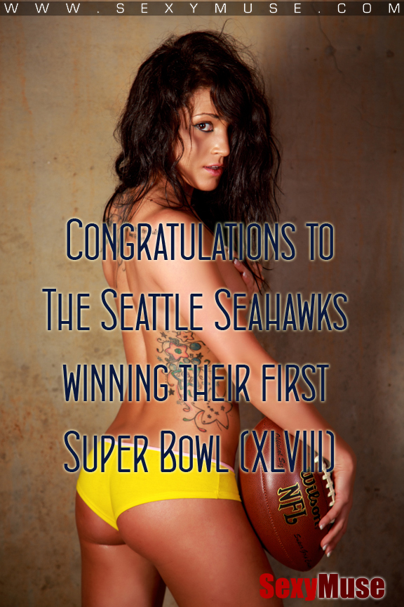 Congratulations to The Seattle Seahawks winning their first Super Bowl (XLVIII)