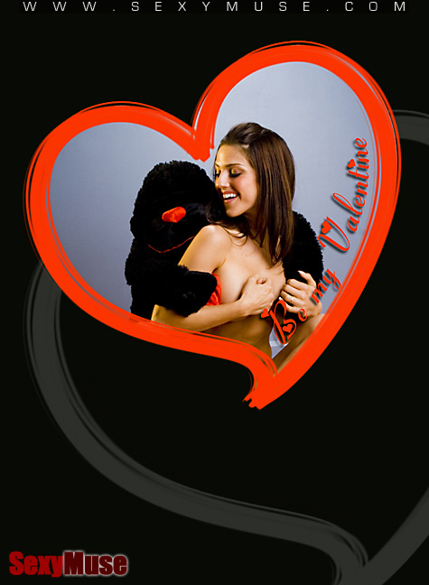 SexyMuse Danielle Teal says: Happy Valentines Day!!!