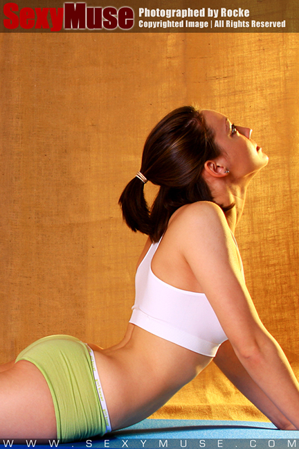 SexyMuse model is bringing Yoga to close our health month
