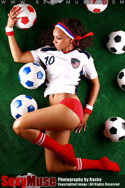 SexyMuse Deonta by Rocke - Soccer World Cup 2014
