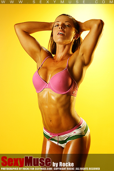 Fitness: SexyMuse model Joanne can teach us some tricks!!!