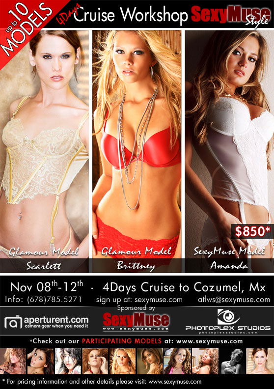SexyMuse Workshop & Cruise