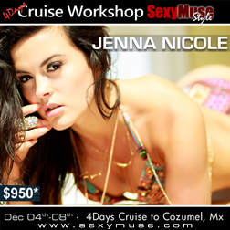 Jenna - SexyMuse Workshop & Cruise